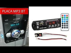 YouTube Usb, Radio Cd, Bluetooth, Electronic Circuit Projects, Mp3 Player, Phone, Youtube, Mini, Licence Plates