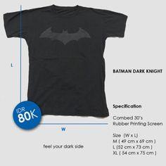 Batman Dark Knight T-shirt. Feel your dark side.