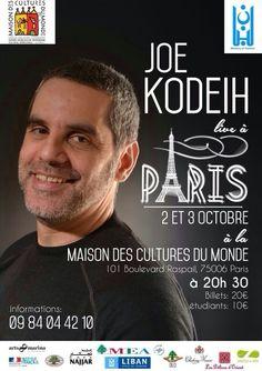 Joe Kodeih à Paris avec un nouveau spectacle