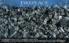Graphite Gray Fireplace Glass