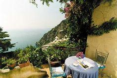 Someday...sigh...Profumo di Mare Positano, Amalfi Coast. Great spot for an espresso.