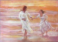 Dancing with Him <3  ~Prophetic Art~