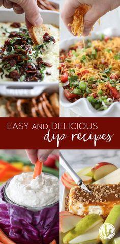 A Collection of the BEST Easy and Delicious Dip Recipes Corn Dip Recipes, Pumpkin Recipes, Side Dish Recipes, Snacks Recipes, Party Recipes, Party Snacks, Side Dishes, Yummy Appetizers, Appetizer Dips