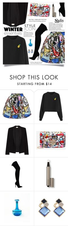 """""""Graffiti Print"""" by violet-peach ❤ liked on Polyvore featuring American Vintage and Laura Mercier"""