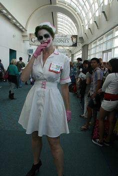 Scary nurse Joker
