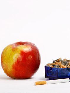 Lust auf eine Zigarette? Iss lieber einen Apfel!