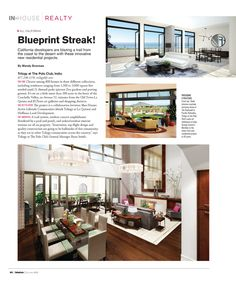 My first story in California Interiors magazine!