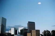 One time I caught a UFO on #35mm film in the city of Denver   #TheTruthIsOutThere