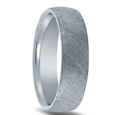 Wedding ring finish - florentine