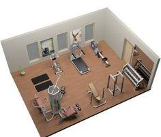 home gym setup Sports & Outdoors - Sports & Fitness - home gym - http://amzn.to/2jsMKm8
