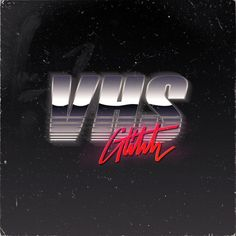 VHS Glitch Logos. on Behance
