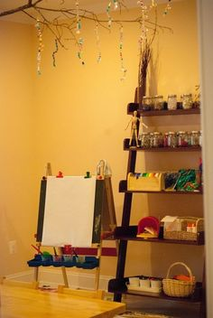 art studio, preschool art, play based learning, reggio inpsired