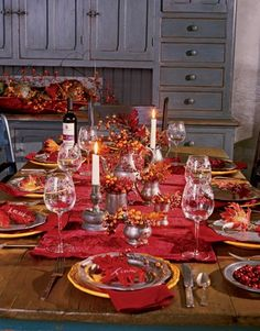 thanksgiving table settings click image to find more holidays events pinterest pins - Thanksgiving Table Settings Pinterest