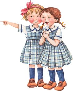 Dindi Gelfi at Soloillustratori: Mary Engelbreit Mary Engelbreit, Sarah Kay, Great Minds Think Alike, Decoupage, Sister Love, Illustrations, Paper Dolls, Childrens Books, Whimsical