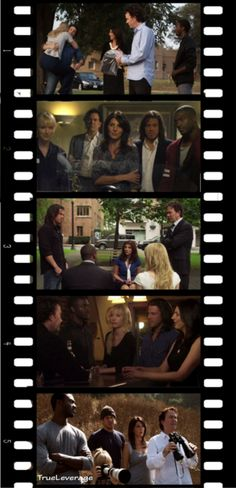 Leverage pic by Becky Bowen  Christian Kane and Leverage gang  Please keep credit when repinning. Thanks!