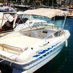 Embarcación de recreo Gobbi 225S con Toldo Bimini Carvid Marine 4 Arcos Aluminio. Disponible en nuestra web: www.carvidmarine.com Boat, Arches, Budget, Dinghy, Boats, Ship