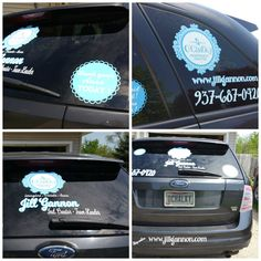 Car vinyl I did for my O'Chalky business (be sure to check out my O'Chalky pinterest board)