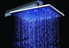 Bathroom:Rain Shower Head Ideas Fancy Shower Heads Blue