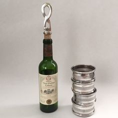 set of 4 vintage sheffield individual wine by sophisticatedflorida
