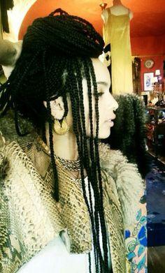 i need braids. Zoe Kravitz
