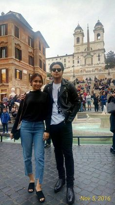 Kathryn Bernardo Hairstyle, Kathryn Bernardo Outfits, Simple Outfits, Casual Outfits, Fashion Outfits, Style Fashion, Travel Ootd, Daniel Padilla, Taiwan Travel