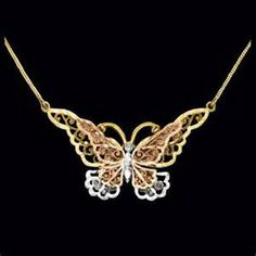 butterfly Necklaces - Bing Images