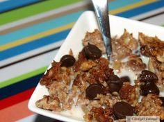 Cinnamon Pecan Crunch Cereal  (Homemade Granola)