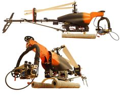 Cheep DIY mount for Trex 600 - HeliFreak