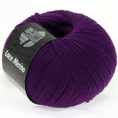 LACE Merino uni 37-violet | EAN: 4033493139700