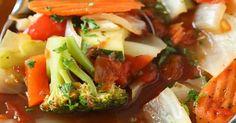 Une soupe qui pourrait nous faire perdre quelques kilos, on veut la recette!