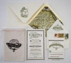 Browning Deb Ball - Color Box Design & Letterpress