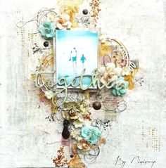 """Scrap of my World: Page """" Together """""""