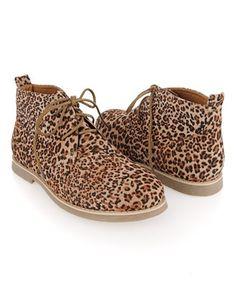 Leopard Print Chukkas - StyleSays
