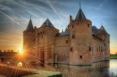 Muiderslot Castle at Muiden, The Netherlands
