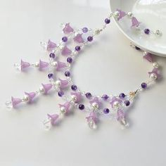 Like the flower and pearl beads necklace?See more details from Pandahall.com | Necklace 2 | Pinterest by Jersica