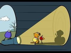 Peep In The Big Wide World episode on Groundhog Day and the science of shadows. Engaging, humorous way for early elementary students to learn about shadows, light, spring, and Groundhog Day.