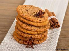 Buy Cookies by Jasmina_K on PhotoDune. A stack of chocolate chip cookies and cinnamon Cookie Recipes, Dessert Recipes, Dessert Food, Ice Cream Ingredients, Tea Snacks, Pastry Cake, Food Humor, Cookies Et Biscuits, Cupcake Cookies