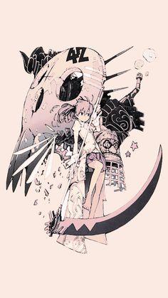 Soul eater Anime Soul, Soul Eater Manga, Fanarts Anime, Manga Anime, Anime Art, Wallpaper W, Soul And Maka, Soul Eater Stein, Soul Eater Evans