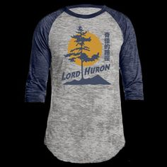 Lord Huron baseball tee