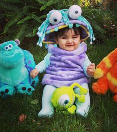 this will be your child - Monsters Inc Baby Halloween Costumes