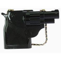 To Live or Die Gun Clutch in Black