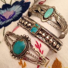 Love turquoise...whatever shape!
