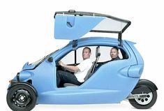 SAM, by Cree of Switzerland, an  all-electric vehicle.