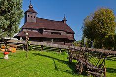 Wooden church in Ulicske Krive (Eastern Slovakia).