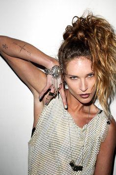 la modella mafia Erin Wasson x Low Luv Spring : Summer 2012 Campaign 3  #tattoo