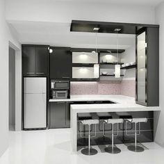 Modern Kitchen Design 40 Wonderful And Styles Kitchen Design Ideas Kitchen Bar Design, Outdoor Kitchen Design, Home Decor Kitchen, Kitchen Styling, Interior Design Kitchen, Home Kitchens, Kitchen Ideas, Kitchen Designs, Kitchen Inspiration