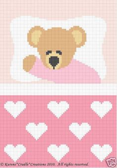 Crochet Patterns Sweet Dreams Baby Girl Bear Pattern | eBay