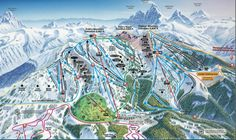 Grand Targhee, Idaho - or is it Wyoming?  Anyway, awesome place to learn to snowboard!