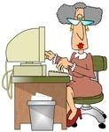 Pre-retirement..now it's Pinterest.  :o)