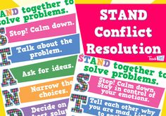 STAND Conflict Resolution